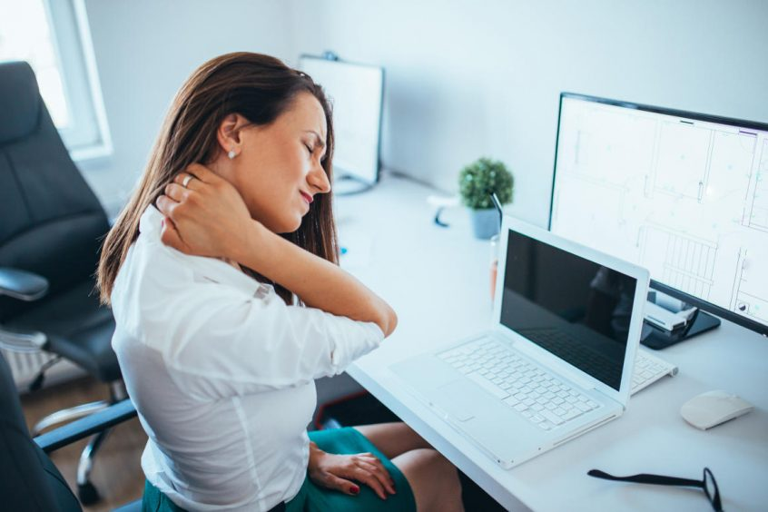 Neck Pain From Office Work