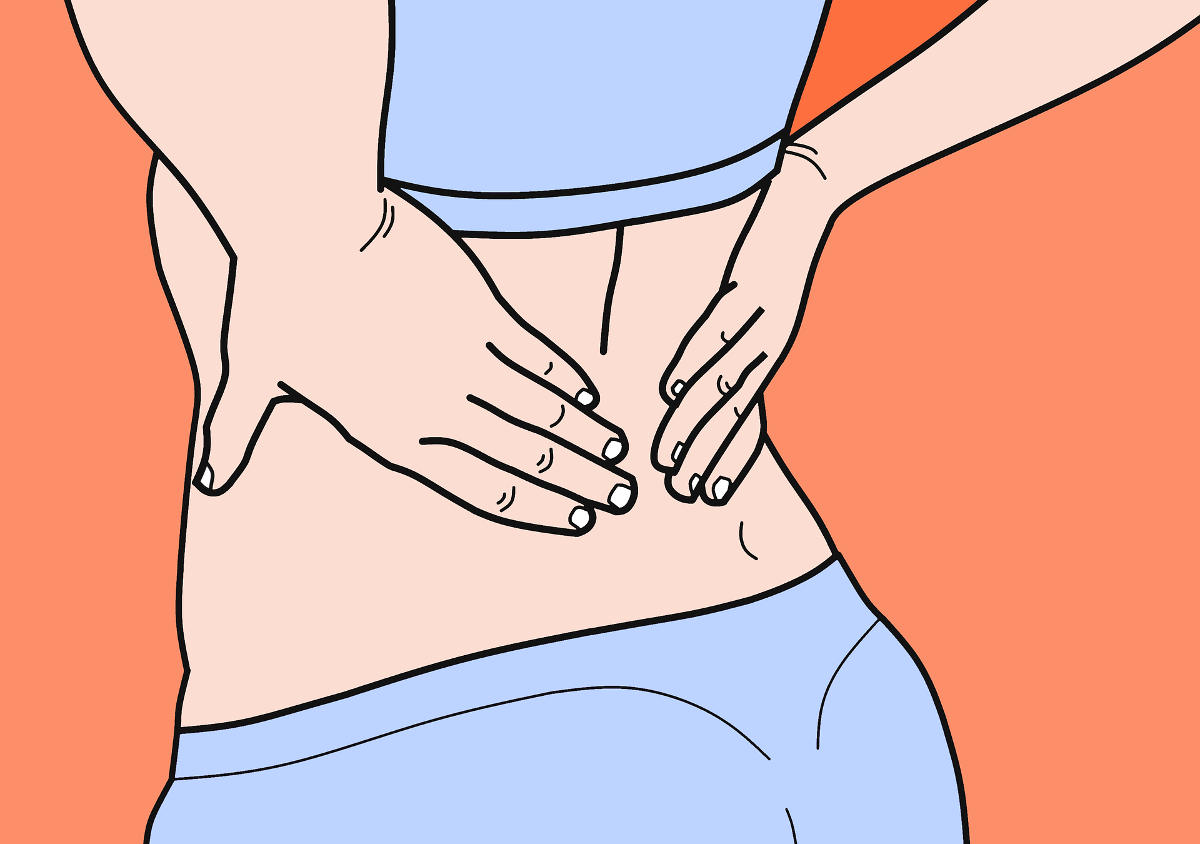 Lower Back Pain - Illustration